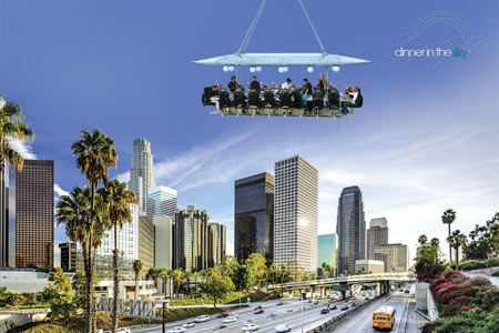 Dinner in the Sky comes to Los Angeles July 1-31