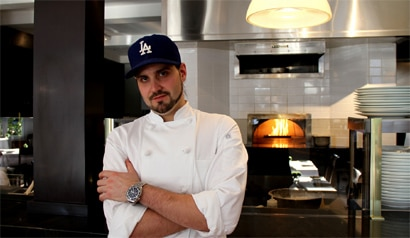 DOMA executive chef Dustin Trani has moved on