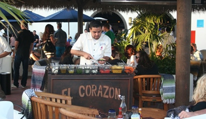 El Corazon de Costa Mesa has opened in the multi-level entertainment complex The Triangle