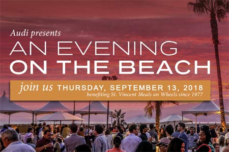 The annual An Evening on the Beach will take place on September 13
