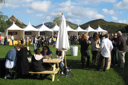 Find information about food festivals happening in the Los Angeles area