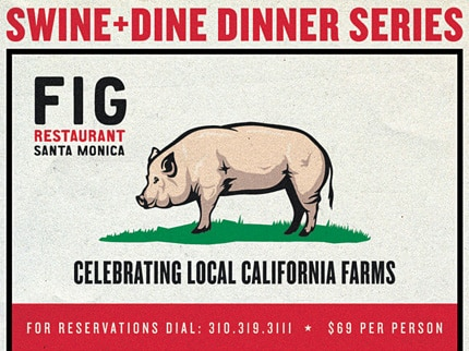 FIG is hosting a Swine & Dine Dinner Series