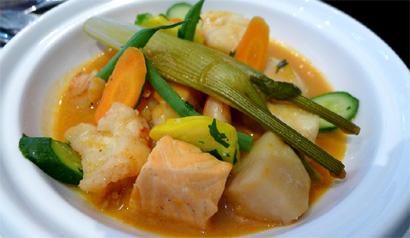 Gaby Restaurant Francais has launched a new De-Light dinner menu, including the Fisherman Marmite
