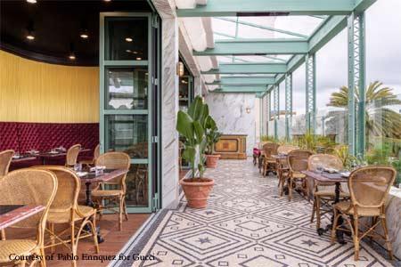Italian chef Massimo Bottura has opened Gucci Osteria da Massimo Bottura