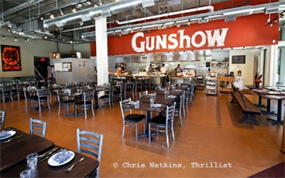 Chef Kevin Gillespie opened Gunshow in Atlanta