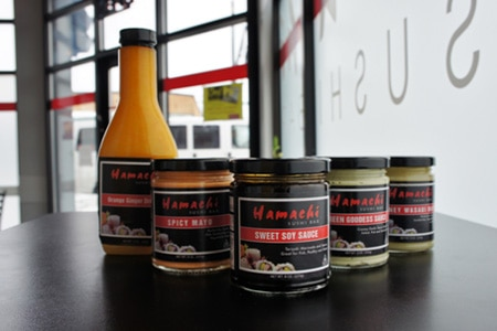 Two New Sauces from Hamachi Sushi Bar