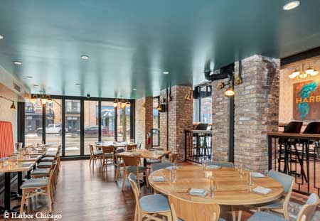 Harbor made its debut in January in the South Loop