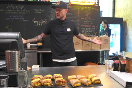 Sack Sandwiches has opened in West Hollywood