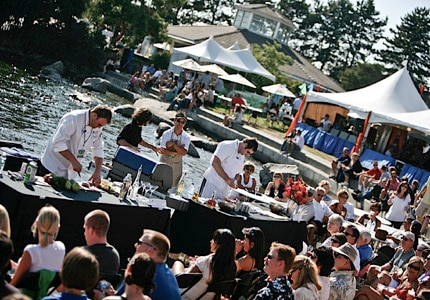 The Grill Off Chef Competition at Uncorked Kirkland in Washington