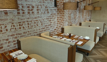 La Brea Bakery Cafe has re-opened with a new cafe menu
