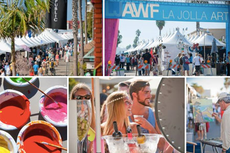 Enjoy food, music, wine and more at the La Jolla Art & Wine Festival