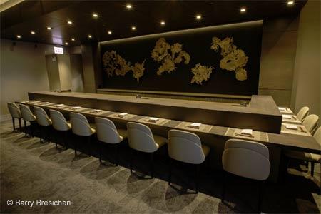 Sushi chef B.K. Park presents an omakase dining experience at Mako