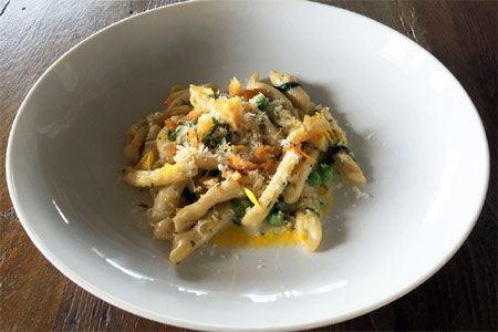 Manhattan House chef Diana Stavaridis teamed up with local students to create a special dish