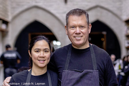 Chefs Walter and Margarita Manzke will open a new restaurant, Bicyclette