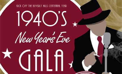 Montage Beverly Hills presents a 1940s gala on December 31, 2013