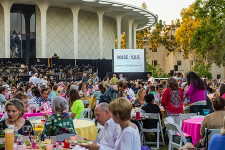 Enjoy an outdoor concert hosted by MUSE/IQUE during their Summer of Sound Concert Series
