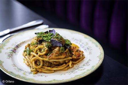 Chef Tiffani Faison has opened Orfano