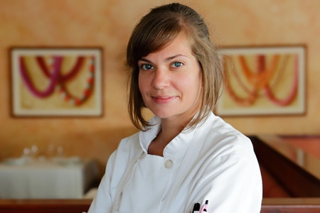 Elizabeth Dippong is the pastry chef at Chef Mavro