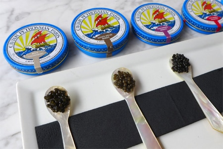 Petrossian Boutique & Restaurant presents Caviar 301 on the third Thursday of the month