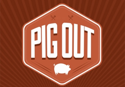 PigOut 3.0 is being held at the Noguchi Gardens on August 24