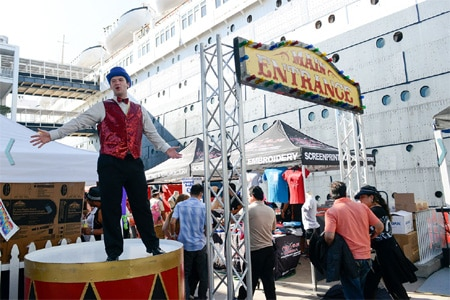 The Queen Mary in the Port of Long Beach will present a July 4th Celebration