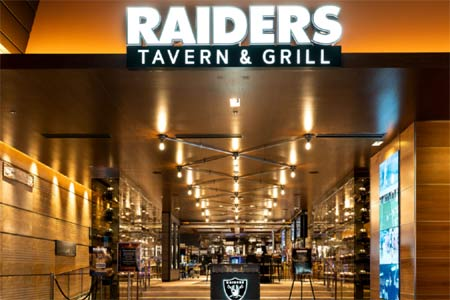 Raiders Tavern & Grill is now open at the M Resort