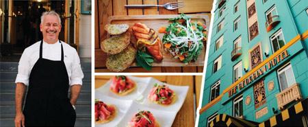 Chef Raphael Lunetta will introduce new menus at The Veranda