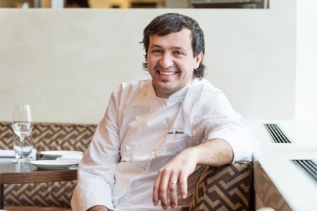 Riccardo Bilotta is the new chef at A Voce Columbus