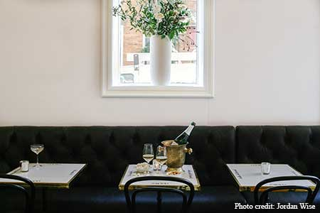 An outpost of the San Francisco Champagne bar called The Riddler has opened in NYC