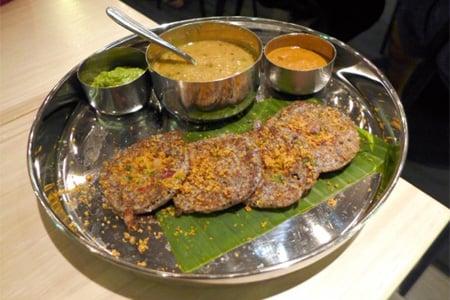 This lentil-based vegetable stew is the namesake dish of Sambar
