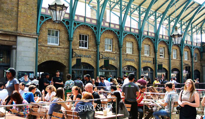 Shake Shack has opened in the Covent Garden Market