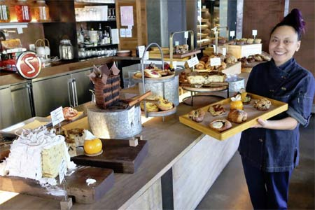 Brunch at Tesse, including treats from pastry chef Sally Camacho Mueller