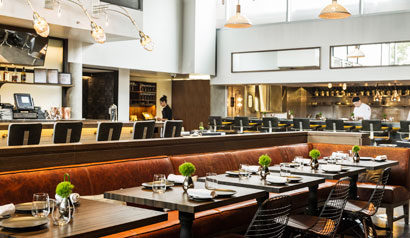 Chef Paul Liebrandt has opened The Elm
