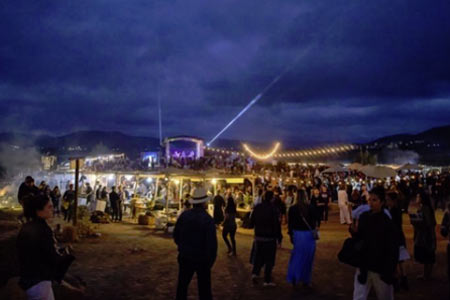 Take a trip south of the border for the Valle Food & Wine Festival