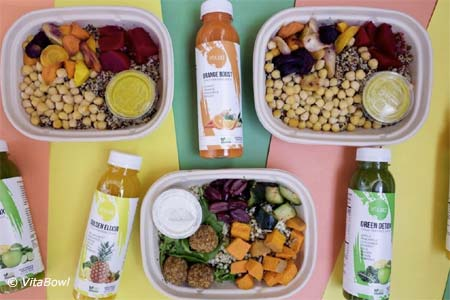 VitaBowl, a source for delivery-only, plant-based meals