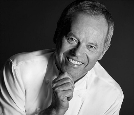 Wolfgang Puck has been honored with a star on the Hollywood Walk of Fame