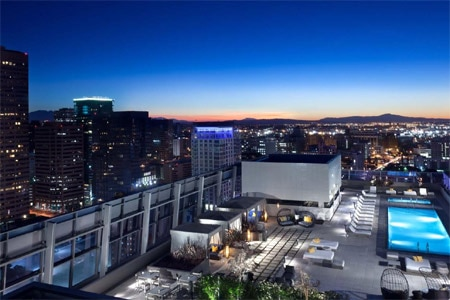 View from WP24 by Wolfgang Puck rooftop