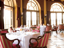 The dining room of Addison in San Diego, CA