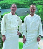Chefs Clark Frasier and Mark Gaier