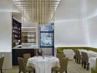 Corton Restaurant in New York City