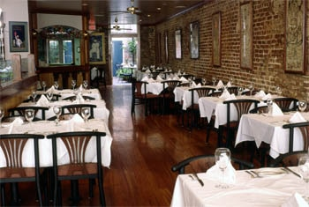 The dining room of K-Paul's Louisiana Kitchen in New Orleans