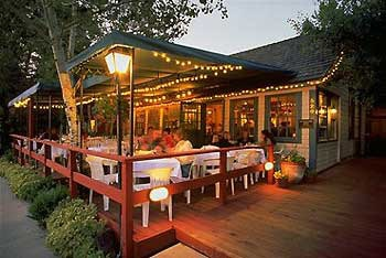 The deck in summer at Ketchum Grill