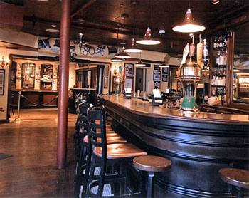The bar at Ye Olde Union Oyster House in Boston