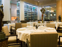 The dining room at L'Espalier in Boston, one of our Top 40 Restaurants in the U.S.