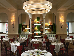 The dining room of Daniel, one of our Top 40 Restaurants in the U.S.