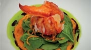 Gluten-free Maine lobster salad at RAYA, The Ritz-Carlton, Laguna Niguel
