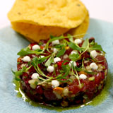 Tuna tartare at The Church Key in West Hollywood