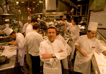 Boulud in the kitchen