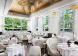 The dining room of Jean-Georges restaurant in New York City, one of GAYOT's Top 40 Restaurants in the U.S.