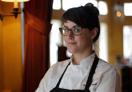 Bronwen Wyatt, pastry chef at La Petite Grocery